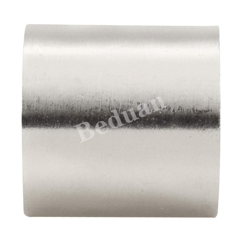 1//2 x 1//2 Female Threaded Beduan Stainless Steel Cast Pipe Fitting Coupling 1 Length