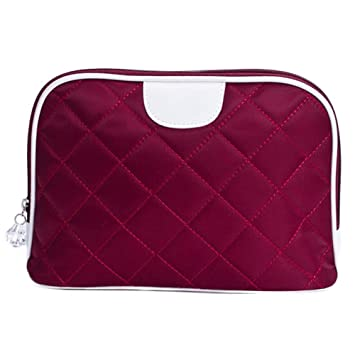 5e16b1b5e8f8 Amazon.com : Cityeast PU Cosmetic Pouch Portable Small Makeup Train ...