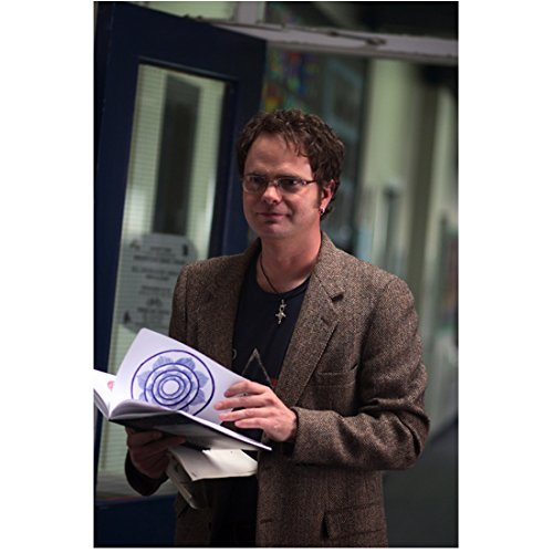 The Last Mimzy Rainn Wilson as Larry White in Glasses and Brown Suit Jacket Holding Book 8 x 10 inch photo -