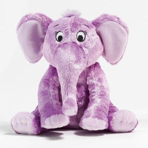 Kohl's Cares Dr. Seuss The Nose Book Purple Elephant Plush for $<!--$28.01-->