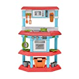play go gourmet kitchen - My Very Own Gourmet Kitchen Pretend Playset Toys With 23 Play Kids Accessories, Super Fun Culinary-Based Play Set, Great Gift Idea
