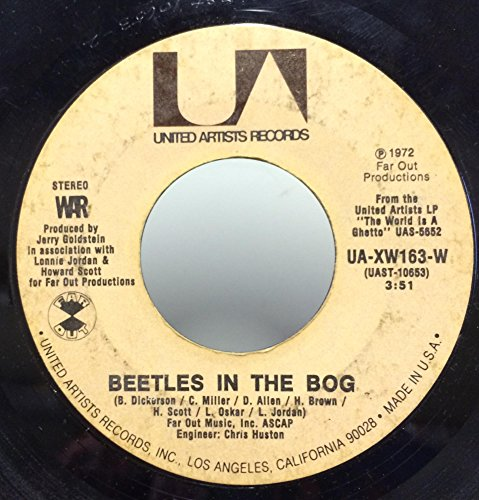 Price comparison product image War The Cisco Kid / Beetles In The Bog 45 rpm single
