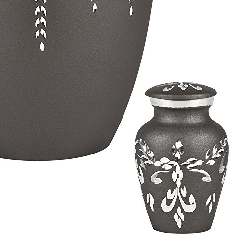 Perfect Memorials Fancy Flourish Keepsake Cremation Urn