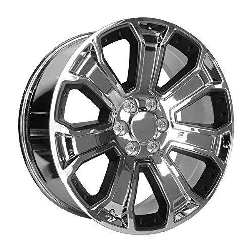 chrome 24 inch rims - 4