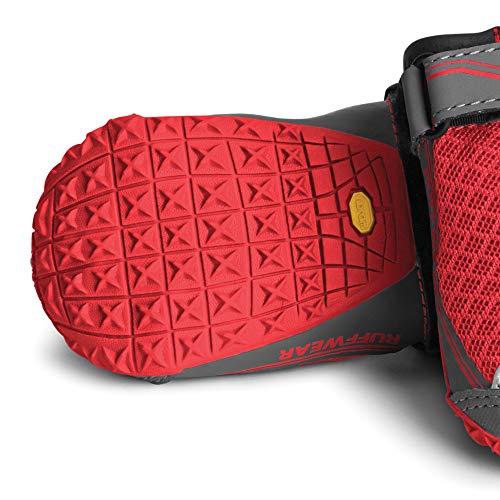 RUFFWEAR - Grip Trex, Red Currant, 2.25 in (4 Boots) by RUFFWEAR (Image #3)