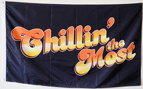 (2But Chillin The-Most Flag Banner 3x5 Feet Man Cave)