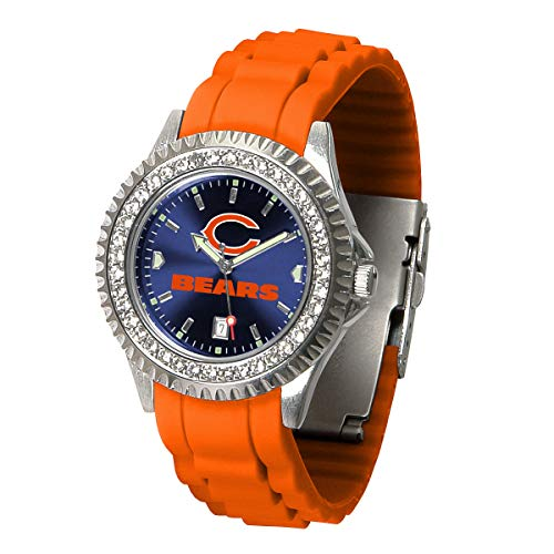 Game Time NFL Chicago Bears Womens SparkleWrist Watch, Team Color, One Size