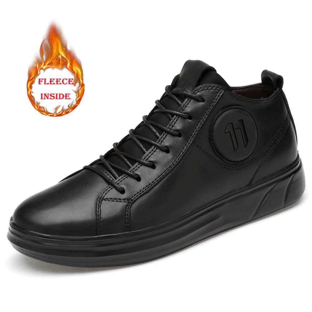 Warm noir JUJIANFU-chaussures, JUJIANFU-chaussures, JUJIANFU-chaussures, Bottes pour Homme 97b