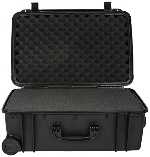 Wheeled Equipment Case (Seahorse SE920FPL,BK Protective Equipment Cases (Black))