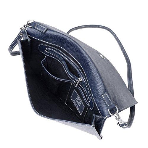 Dudu - Sac porté épaule - Dollaro - Stella - Bleu - Femme