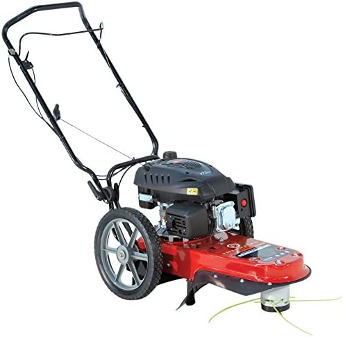 Fields Edge M220 Pivoting String Mower - 173cc 4-Cycle Engine, 5 Year Warranty