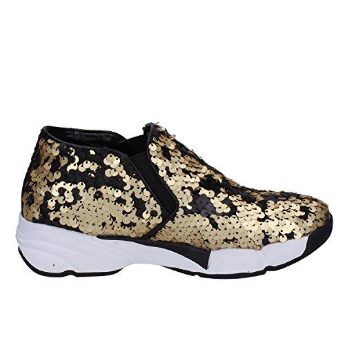 Donna PARKER UMA Oro On 36 Sneakers Paillettes EU Slip wqzqOI