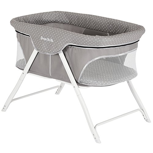 Dream On Me, Traveler Portable Bassinet, Twinkle Grey