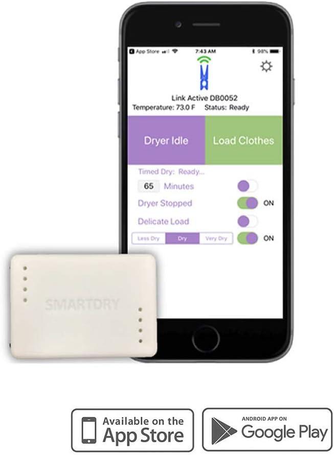 SmartDry - Sensor inalámbrico de lavandería y aplicación ...
