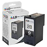 LD © Remanufactured Lexmark #28 / 18C1528 Black Ink Cartridge for Lexmark X2500, X2530, X2550, X5070, X5075, X5320, X5340, X5410, X5495, Z1300, Z1310, Z1320, Z845