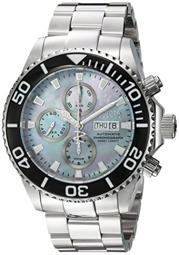 Invicta Men's 'Pro Diver' Automatic Stainless Steel Casual Watch, Color:Silver-Toned (Model: 18911)