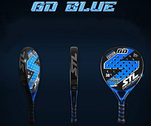 Pack de Padel Steel Custom GD Edición Limitada Eva Soft Plus Azul ...