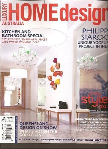 Luxury Home Design Australia Magazine (Volume 14 No. 2 2012): Amazon.com:  Books