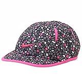 Nike Girls Dri Fit Featherlight Cap (2/4T, Pink Pow/Cement Grey)