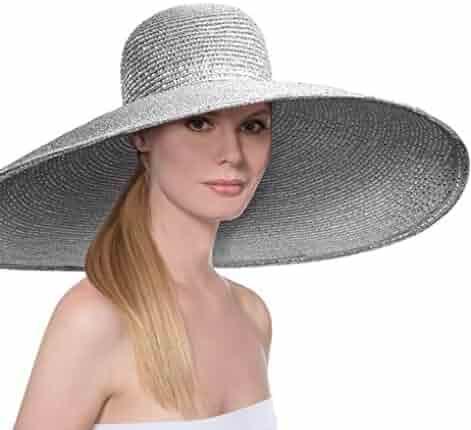 df4ffc425a9 Eric Javits Luxury Fashion Designer Women s Headwear Hat - Dynasty - Silver