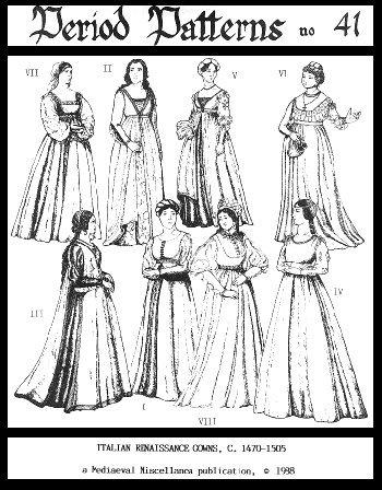 Osha Game Of Thrones Costume (Women's Italian Renaissance Gowns Pattern)