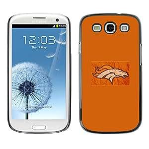 Stuss Case / Funda Carcasa protectora - Flaming Horse - Samsung Galaxy S3