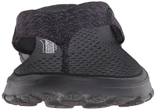 Skechers Black Infradito Walk Donna Nestle Go 0qPFZ0