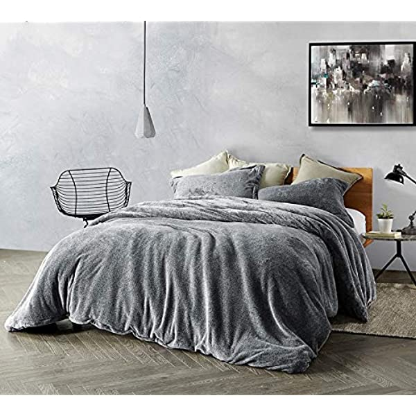 Amazon Com Byourbed Coma Inducer King Duvet Cover Ub Jealy Slate Black Home Kitchen