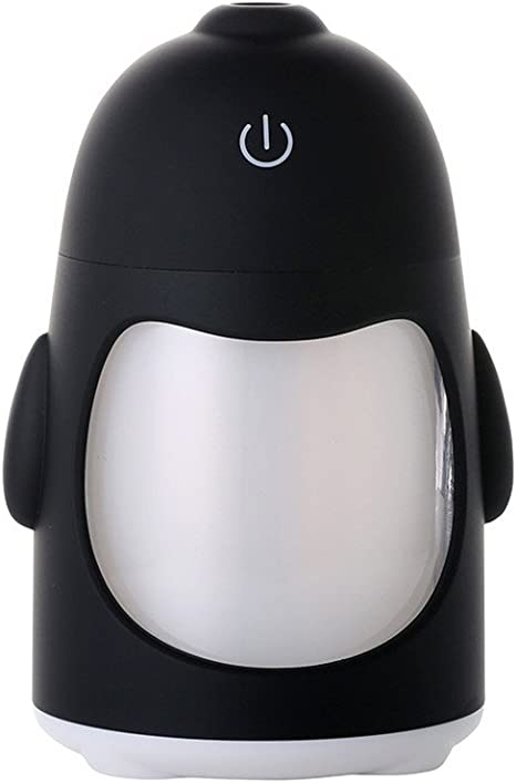 YSCYLY Pingüino Humidificador Interfaz USB Mini Coche ...