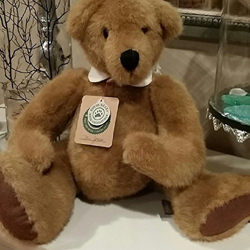 16 Inch Brown Teddy Bear (Boyds Bears Mr. Jones Classic Teddy Bear w Collar 16