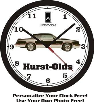 1983 OLDSMOBILE HURST-OLDS WALL CLOCK-FREE USA SHIP