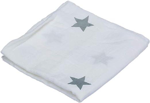 WFHhsxfh Paño de Envoltura de algodón Star Baby, Manta receptora ...