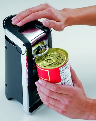 Hamilton Beach 76606Z Smooth Touch Can Opener, Black and Chrome Discontinued