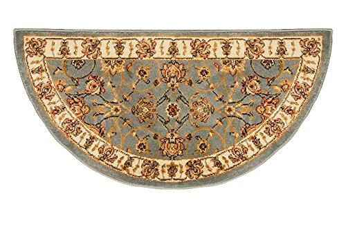 Oriental Classic Blue Hearth Rug, ()