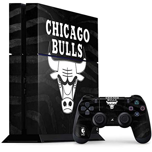 - Chicago Bulls PS4 Console and Controller Bundle Skin - Chicago Bulls Black Animal Print | NBA & Skinit Skin