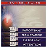 New York Giants 4 Pack Magnetic to Do Notes
