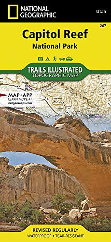 Capitol Reef National Park (National Geographic Trails Illustrated Map) from NATIONAL GEOGRAPHIC