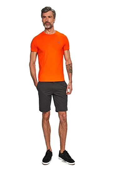 Polo Ralph Lauren T-Shirt Uomo Mod. 710-671438 Arancio XL: Amazon ...