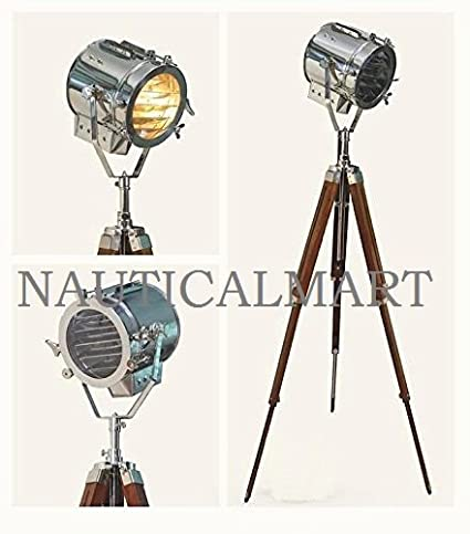 NAUTICALMART VINTAGE SEARCH SPOTLIGHT SPOT LAMP WITH CLASSICAL ...