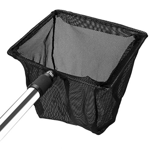 Fodimex – Landing Fishing Net Telescopic 47-84cm Folding Fishing Pole Extending Fly Carp Course Large Folding Landing Net