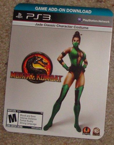 (PS3 Mortal Kombat JADE Classic Costume DLC)