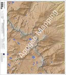 Topographic Map Mountain.Split Mountain California 7 5 Minute Topographic Map Waterproof