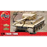Hornby Airfix A01308 1:76 Scale Tiger I Tank Military Vehicles Classic Kit Series 1