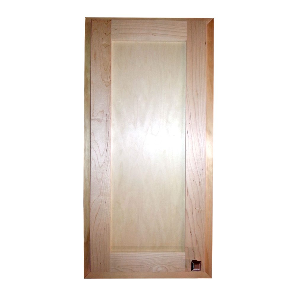 Wood Cabinets Direct 36'' Recessed In The Wall Christopher Medicine Storage Cabinet, 37.5'' x 15.5'' x 3.5''