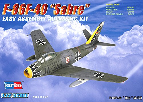Hobby Boss F-86F-40 Sabre Airplane Model Building Kit