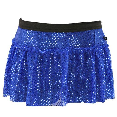 Royal Blue Sparkle Running Skirt L