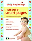 img - for Baby Beginnings Nursery Smart Pages: A Guide for Nursery Directors & Caregivers book / textbook / text book