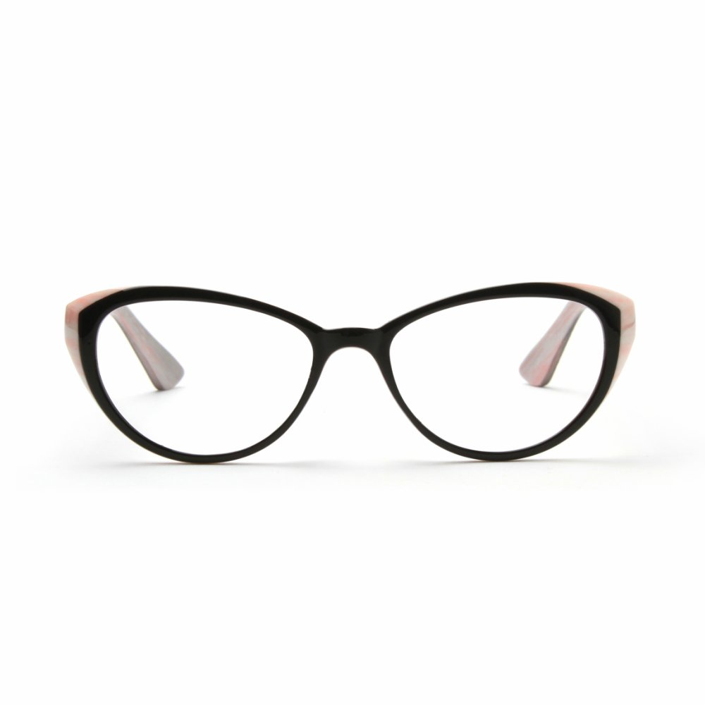 MIDI Cat Eye Vintage Reading Glasses for Women (M-103) Designed in Japan / Fine Spring Hinge for Comfort fit / Available in 3 Chic Colors (+1.25, Pink) by MIDI (Image #3)