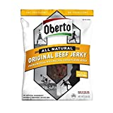 Oberto All Natural Original Beef Jerky, 3.25 Ounce Package (Pack of 6)
