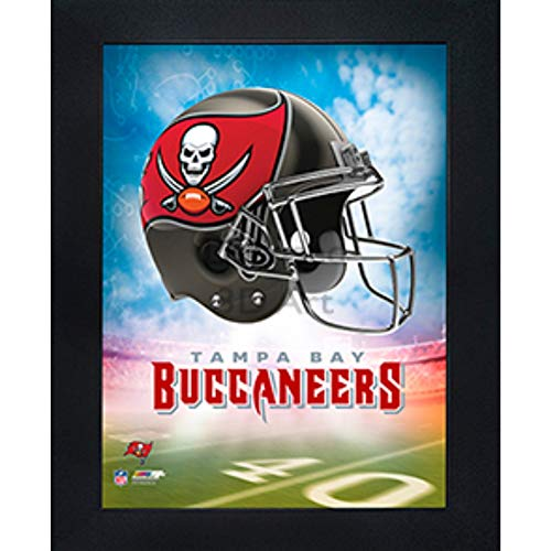 Tampa Bay Buccaneers Wall - Tampa Bay Buccaneers 3D Poster Wall Art Decor Framed Print | 14.5x18.5 | Lenticular Posters & Pictures | Memorabilia Gifts for Guys & Girls Bedroom | NFL Football Team Sports Fan Pictures for Man Cave